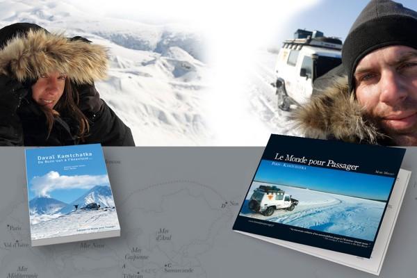 2 livres d'aventure avec deux auteurs