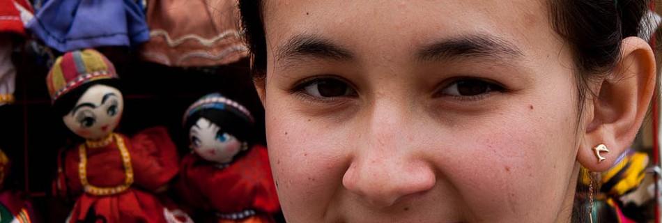 La beauté des femmes ouzbèkes