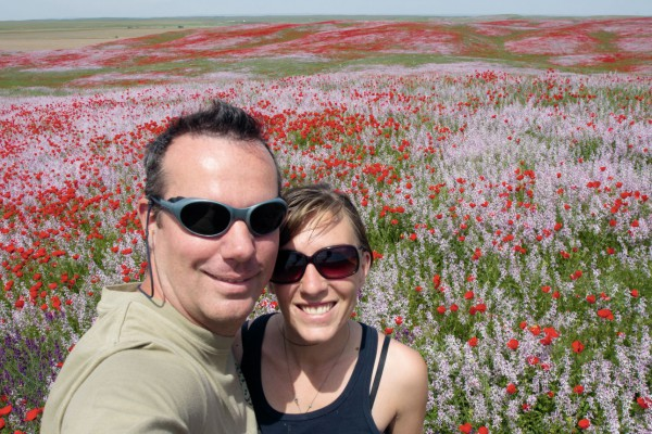 Les auteurs Jeanne-Sarah et Marc Mellet