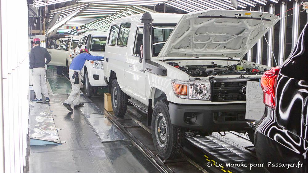 Visite de l'usine Toyota Autobody