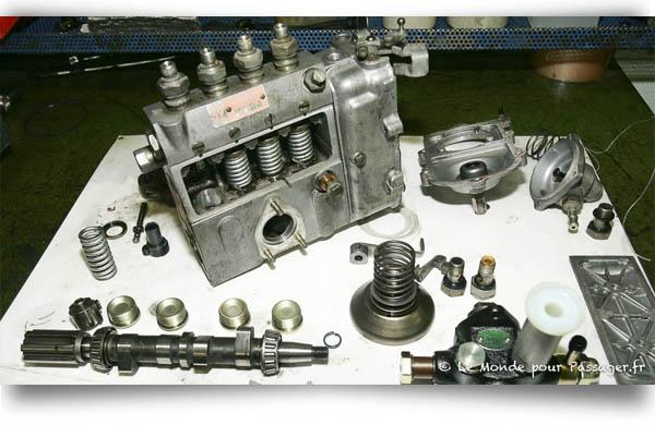 La pompe à injection du 3B
