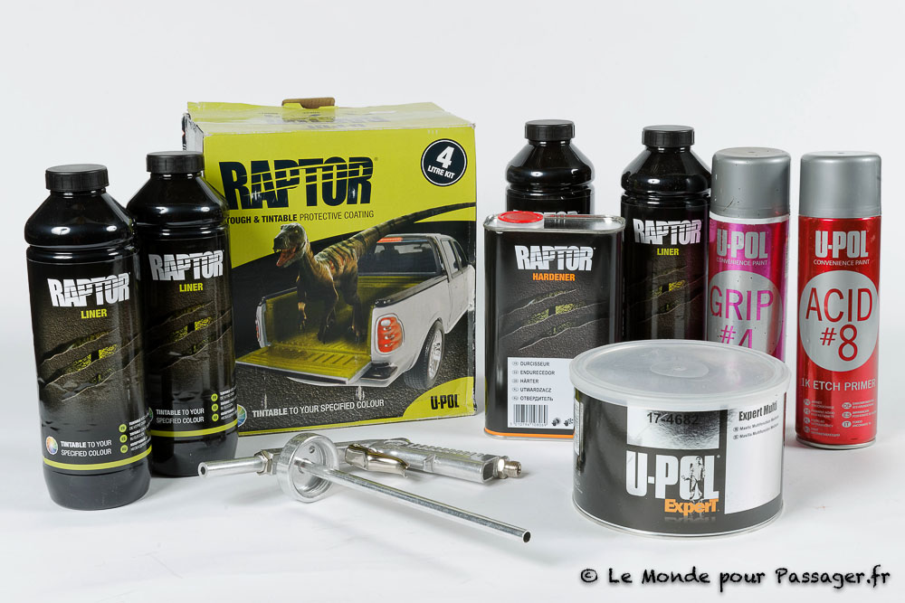Test du Raptor U-Pol