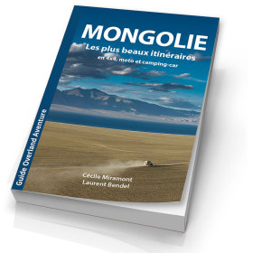 Le livre Mongolie, les plus beaux itinéraires de Laurent Bendel et Cécile Miramont