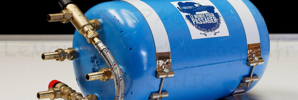 La gamme des ballons Ebercal est disponible en plusieurs contenances : de 10 à 70 litres.