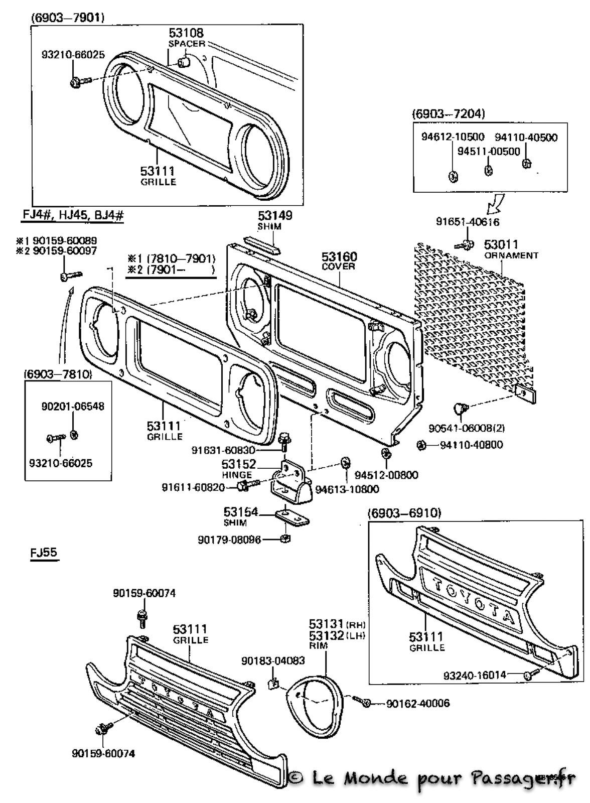 Fj55-Eclatés-Techniques063